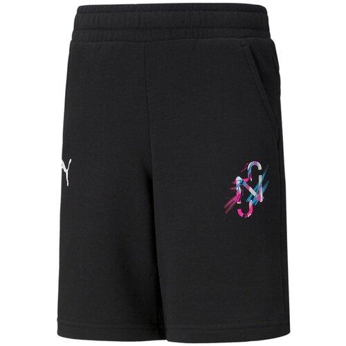 Фото - Шорты Puma Neymar Jr Creativity Shorts Jr Черный 128 60556101 шорты для мальчиков puma alpha размер 128 134