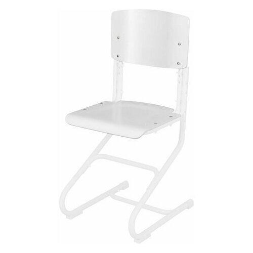 Купить Сиденье + спинка стула дэми СУТ.01, фанера, цвет белый, ДЭП.19, 1 шт., ДЭМИ, Парты и столы