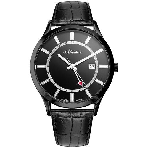 Фото - Швейцарские часы наручные мужские Adriatica A8289.B214Q мужские часы adriatica a1246 5217q