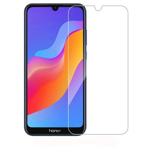 3D защитная пленка MyPads с закругленными краями которое полностью закрывает экран для телефона Honor 9X (STK-LX1)/ Huawei Honor 9X Premium / Honor 9X (Russia) глянцевая