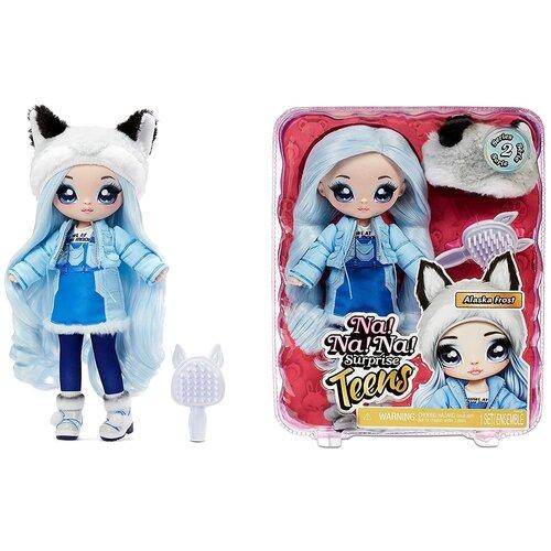 Кукла Na! Na! Na! Surprise Teens Doll Alaska Frost Wolf волк недорого