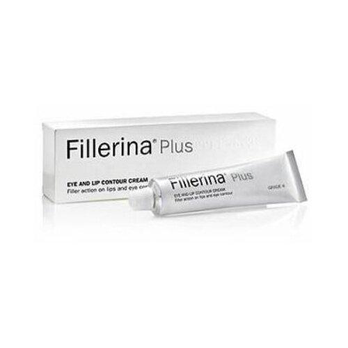 FILLERINA Крем для губ и контура глаз 15 мл Уровень 4