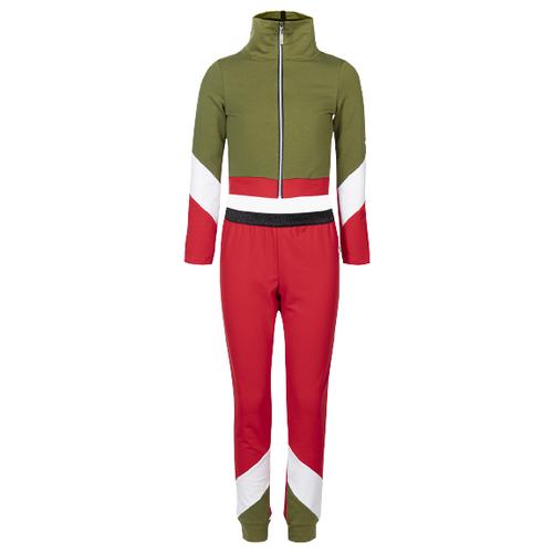 Спортивный костюм Nota Bene размер 152, зеленый/красный