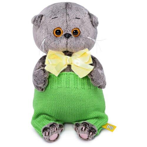 Фото - Budi Basa Мягкая игрушка Басик Baby в вязаных штанишках, 20 см игрушка мягкая budi basa басик baby в шапке панда 20 см bb 070