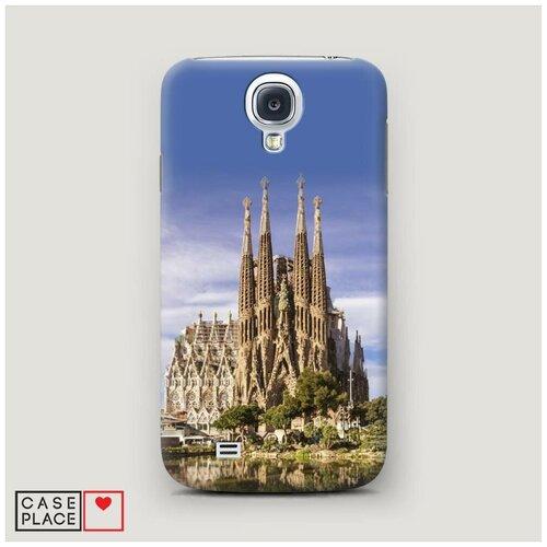 Чехол Пластиковый Samsung Galaxy S4 Храм святого семейства в Барселоне 1