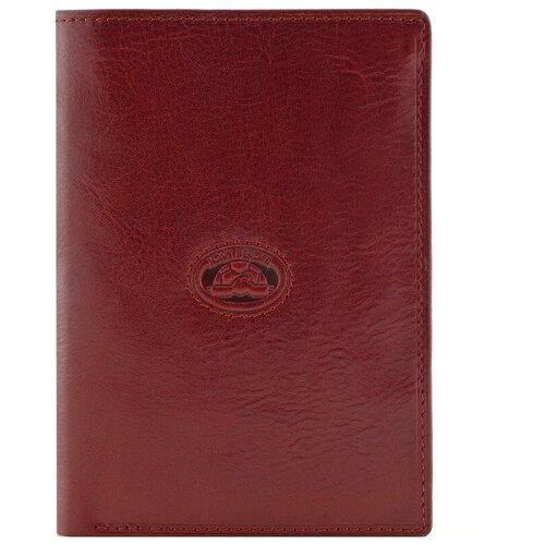 Портмоне + документы Tony Perotti Italico - Tuscania, женская, натуральная кожа, красный