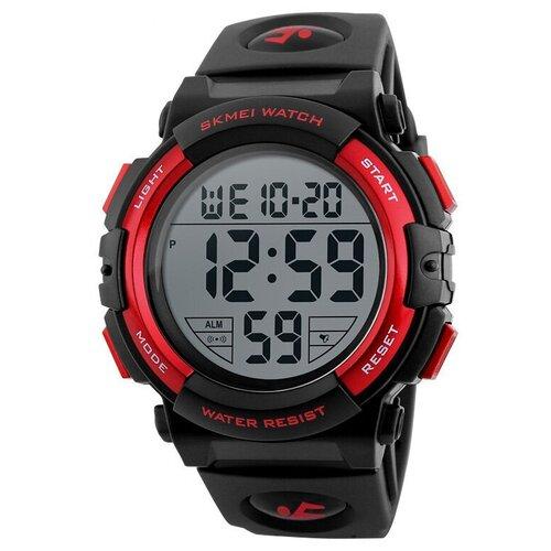 Часы мужские SKMEI 1258 - Черные/Красные