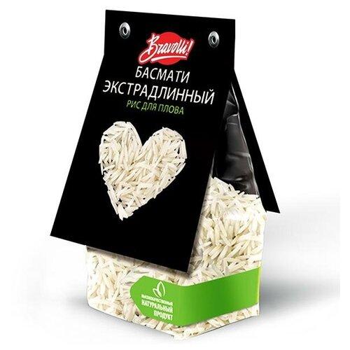 Рис для плова Басмати экстрадлинный Bravolli!, 350 гр недорого