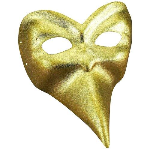 Аксессуар для праздника Forum Novelties Итальянская маска золотая Forum