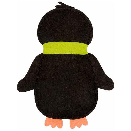 Купить Набор для изготовления игрушки Miadolla Пингвинчик , 13x16 см, арт. KD-0260, Изготовление кукол и игрушек