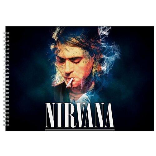 Альбом для рисования, скетчбук Smoke NEVERMIND