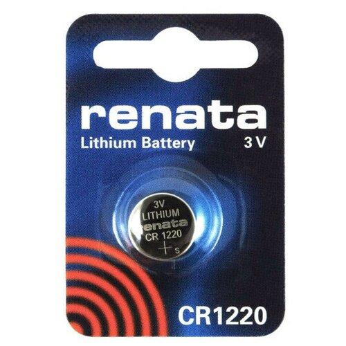 Фото - Батарейка CR1220 - Renata (1 штука) батарейка cr1620 renata 1 штука