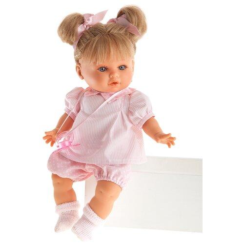 Фото - Интерактивная кукла Antonio Juan Вера в розовом, 30 см, 1336 кукла antonio juan антония в розовом 40 см 3376p