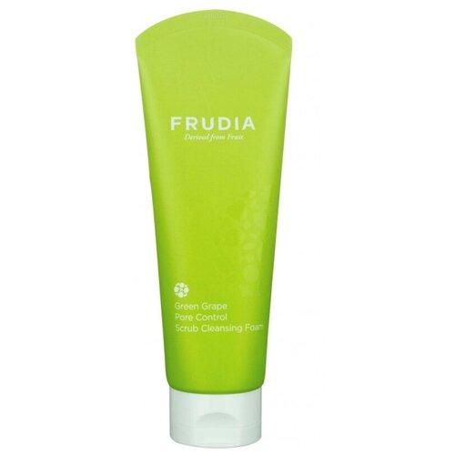 Купить Пенка -скраб для умывания себорег FRUDIA с зеленым виноградом 145г 03352