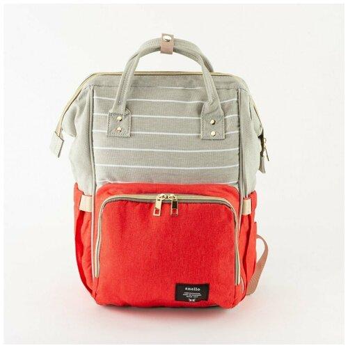 Рюкзак для мам Anello 0193 красный