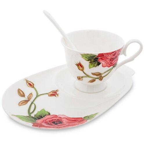 Фото - JS-11 Чайная пара Роза Рафаэлло (Pavone) букет рафаэлло