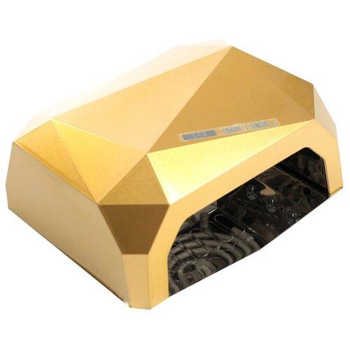 Купить Лампа для гель-лака LuazON LUF-06, UV-LED, 36 Вт, быстрая сушка, желтый
