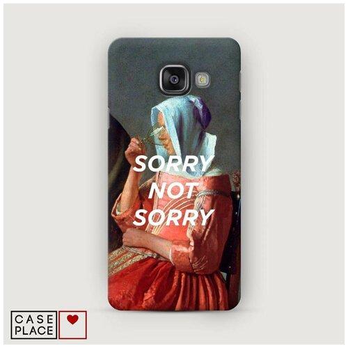 Чехол Пластиковый Samsung Galaxy A5 2016 Sorry not sorry