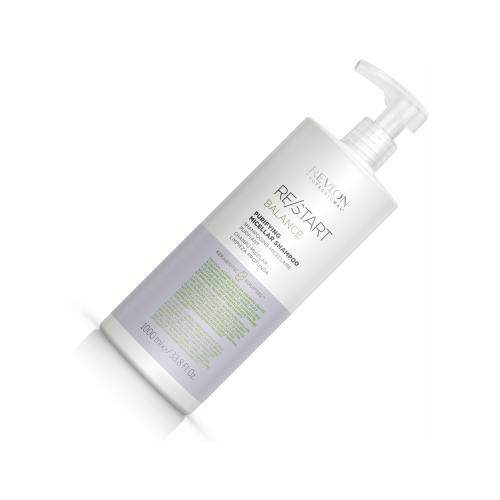 Купить Шампунь мицеллярный для жирной кожи головы, revlon restart balance purifying micellar shampoo 1000мл, Revlon Professional