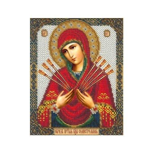 Набор Богородица Семистрельная 18х22,5 Русская искусница 355 18х22,5 Русская Искусница 355)