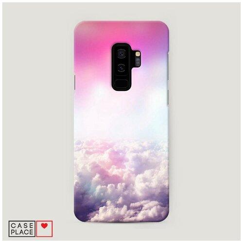Чехол Пластиковый Samsung Galaxy S9 Plus Постельные облака