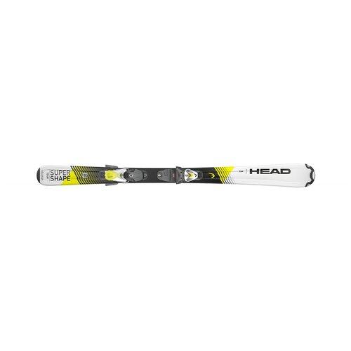 head сумка head tour team 3r pro Горные лыжи Head Supershape Team SLR Pro White/Yellow + SLR 7.5 (117-157) (137)