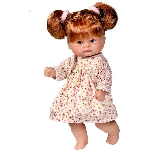 Asi ASI Кукла виниловая Аси (Asi) пупсик в цветочном платье (20 см)