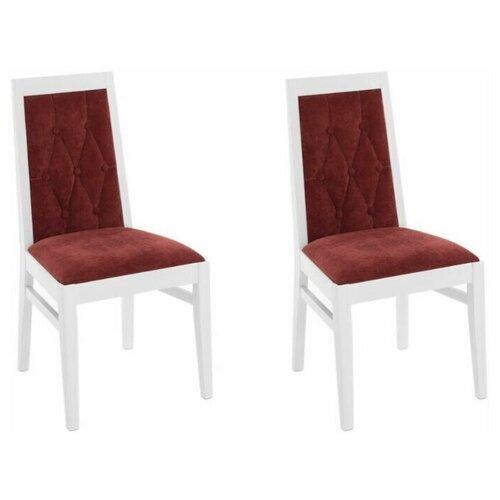 Комплект стульев Аврора Антонио Эмаль белая / Дана 32 2 шт