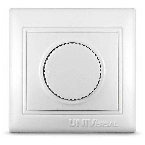 Светорегуляторы скрытой установки Universal Светорегулятор СП 500Вт Севиль бел. UNIVersal С0101