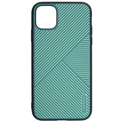 Фото - Чеxол (клип-кейс) Lyambda ATLAS для iPhone 12 Pro Max (LA10-1267-GR) Green чеxол клип кейс lyambda eris для iphone 12 mini la11 1254 gr green