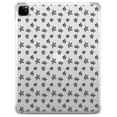 Чехол для iPad Pro 12.9 Черные звезды геометрия