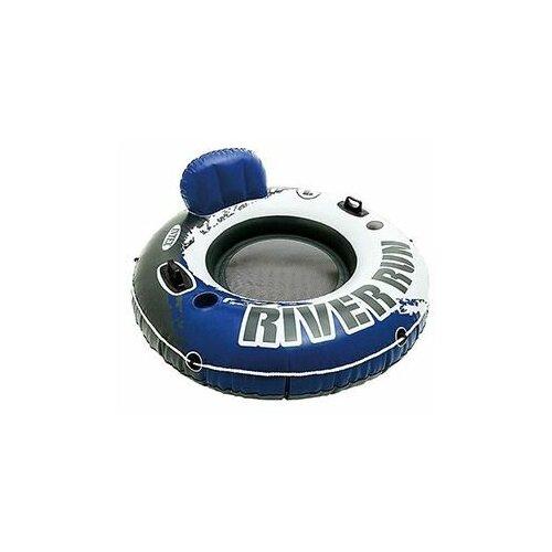 Фото - Надувной круг Intex River Run одноместный с сетчатым дном, диаметр 135 см, Intex 58825 надувной круг intex river rat 122см от 12лет 68209