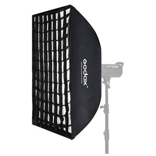 Фото - Софтбокс Godox SB-UFW6090, 60 х 90 см, с сотами, быстрораскладной софтбокс godox sb ms 40x60 байонет ss