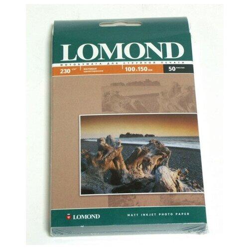 Фото - Фотобумага Lomond A4 230g/m2 матовая одностороняя 102016 фотобумага lomond a3 230g m2 глянцевая односторонняя 50 лист