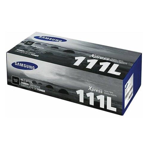 Картридж лазерный SAMSUNG (MLT-D111L) SL-M2020/M2020W/M2070/M2070W, оригинальный, ресурс 1800 стр., SU801A