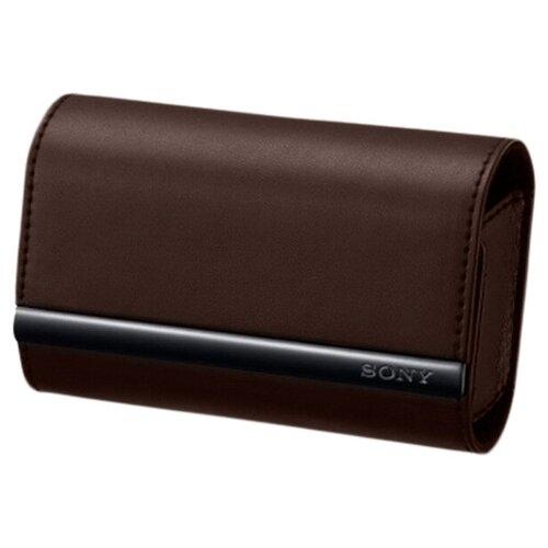 Чехол для фотокамеры Sony LCS-TWJ Brown для аппаратов серий G/ J/ T/ TX/ W/ WX коричневый (LCSTWJT.AE)