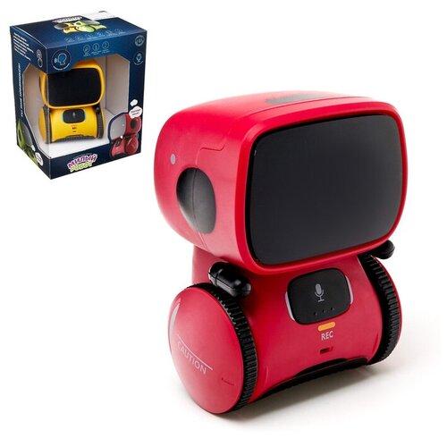 Купить ZHORYA Робот интерактивный «Милый робот», световые и звуковые эффекты, цвет красный, Роботы и трансформеры