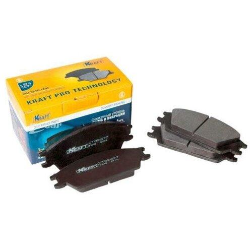 Фото - KRAFT KT091377 К-т передних тормозных колодок для Hyundai AccentI [складские помещения сша] 1 комплект 4 передних 756 d1506 керамических тормозных колодок