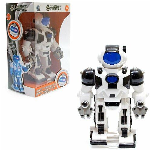 Робот Veld co 55505 свет, звук машина veld co 83563 металлическая crawler off road pickup 360 противоударная система инерция свет