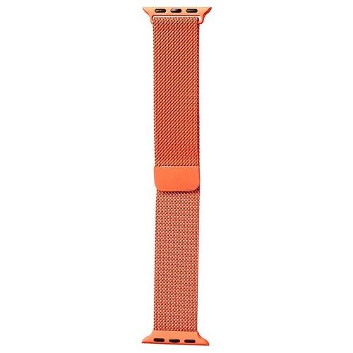 Аксессуар Ремешок Bruno для APPLE Watch 38/40mm Milano Orange b20518 аксессуар ремешок bruno для apple watch 38 40mm milano black red b20527