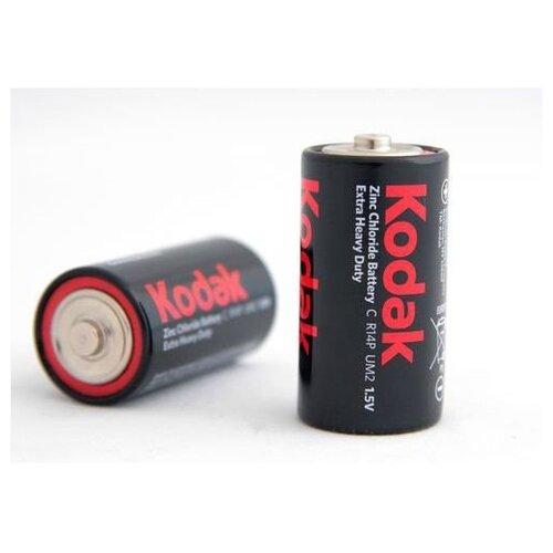 Фото - Батарейка Kodak EXTRA HEAVY DUTY R14, 1.5 В SR2 батарейка kodak r20 extra heavy duty kdhz 24 144 6912