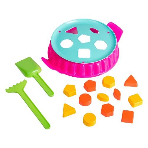 Набор Соломон Геометрия 4275006, розовый/голубой/зеленый