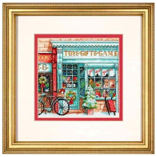 Набор для вышивания DIMENSIONS 70-08900 Магазин игрушек 15 x 15 см dimensions набор для вышивания мать 15 х 15 см 06709
