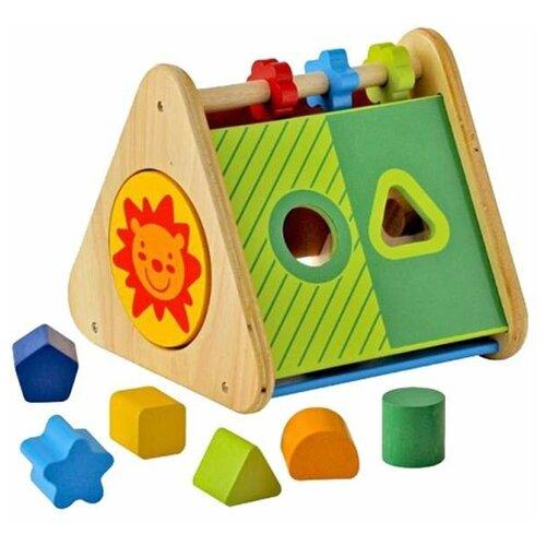 Деревянный сортер I'm Toy Развивающий треугольник