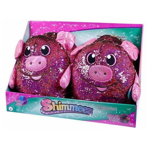 Купить Мягконабивная фигурка свинки в пайетках Shimmeez (Шиммиз)35 см Beverly Hills Teddy Bear SMZ01018/1, Beverly Hills Teddy Bear Company, Мягкие игрушки