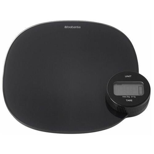 Цифровые кухонные весы, Brabantia, темно-серый, 122880