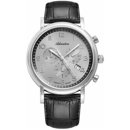 Фото - Часы наручные мужские Adriatica A8297.5227CH мужские часы adriatica a1246 5217q