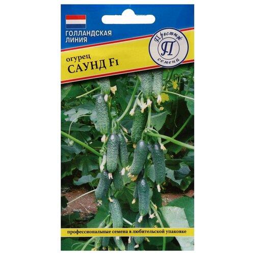 Семена Огурец Саунд F1, 5 шт семена огурец сальери f1 8 шт в цветной упаковке седек