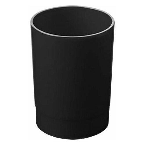 Купить Подставка-органайзер СТАММ (стакан для ручек), 70х70х90 мм, черный, ОФ777, Канцелярские наборы