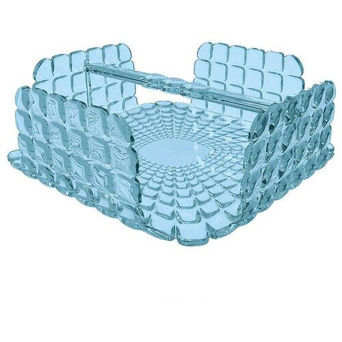 Фото - Салфетница квадратная tiffany голубая салфетница guzzini tiffany квадратная sea blue